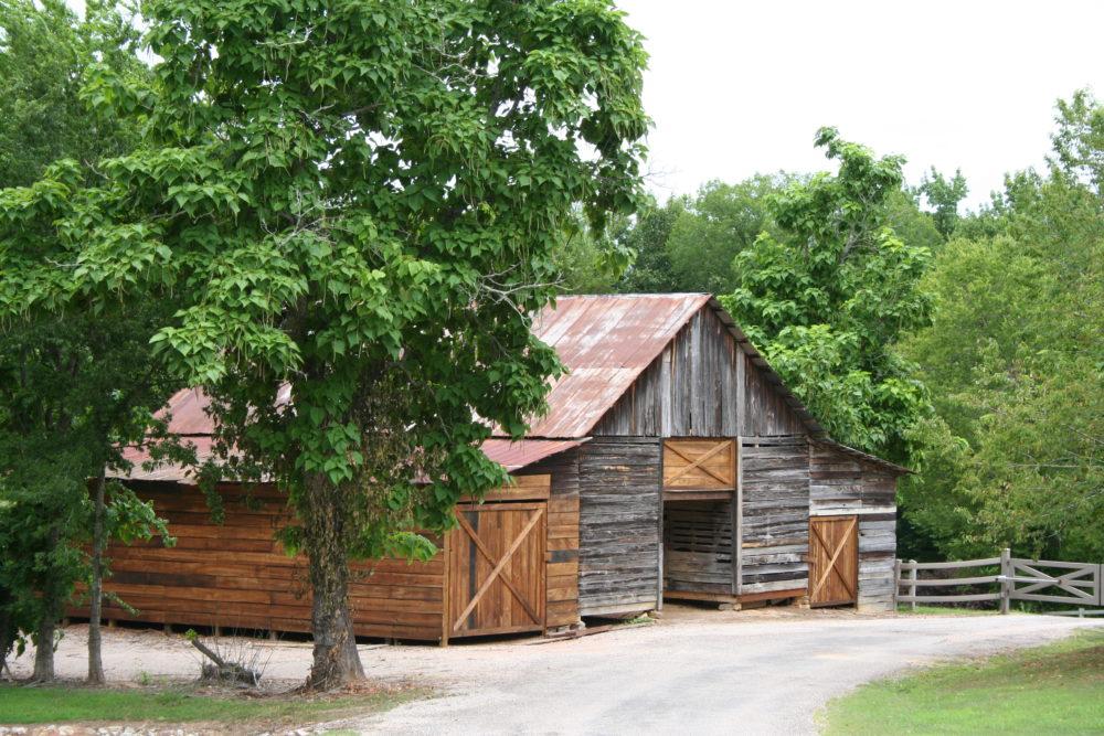 old barn gallery shot summer